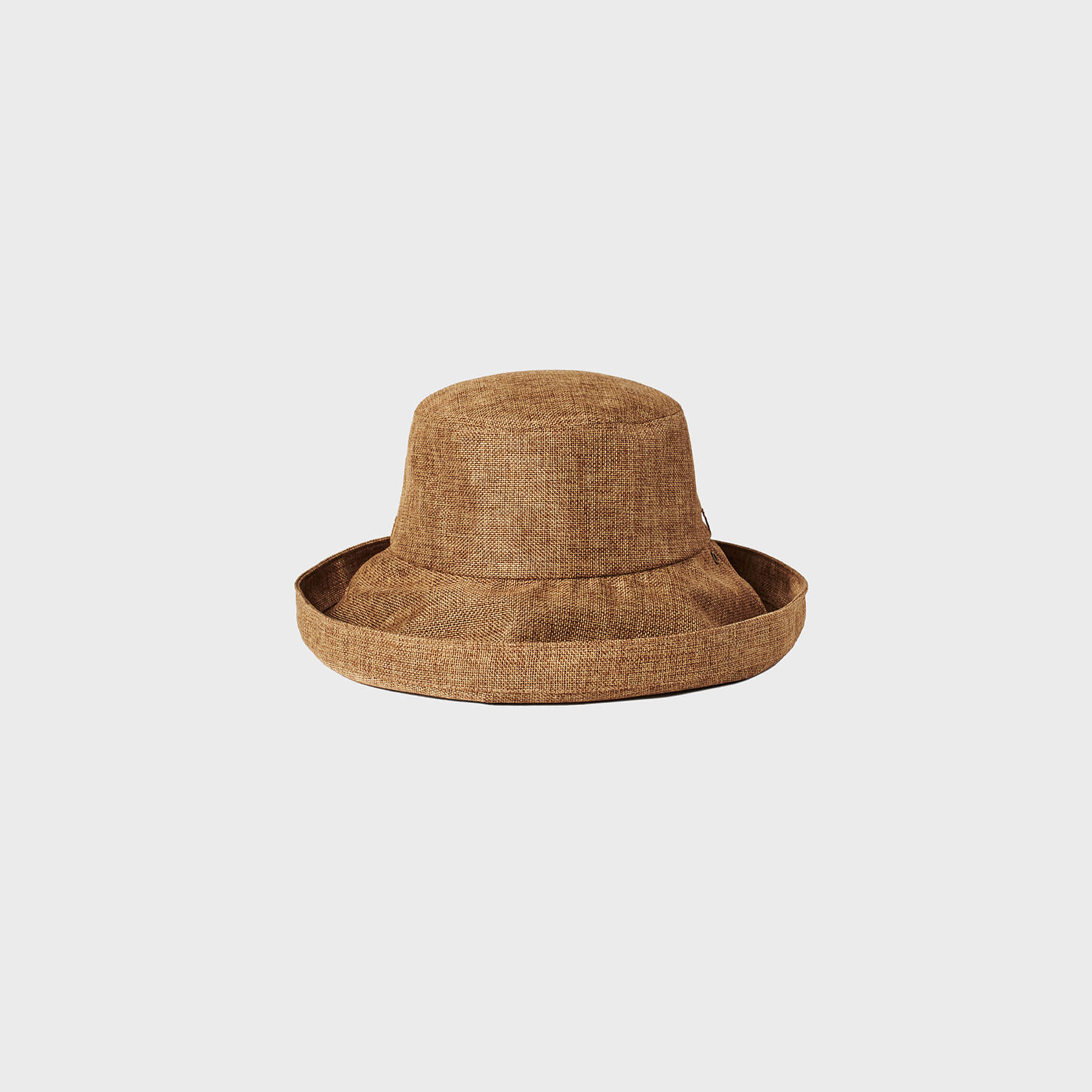 Parasol roll hat (brown)