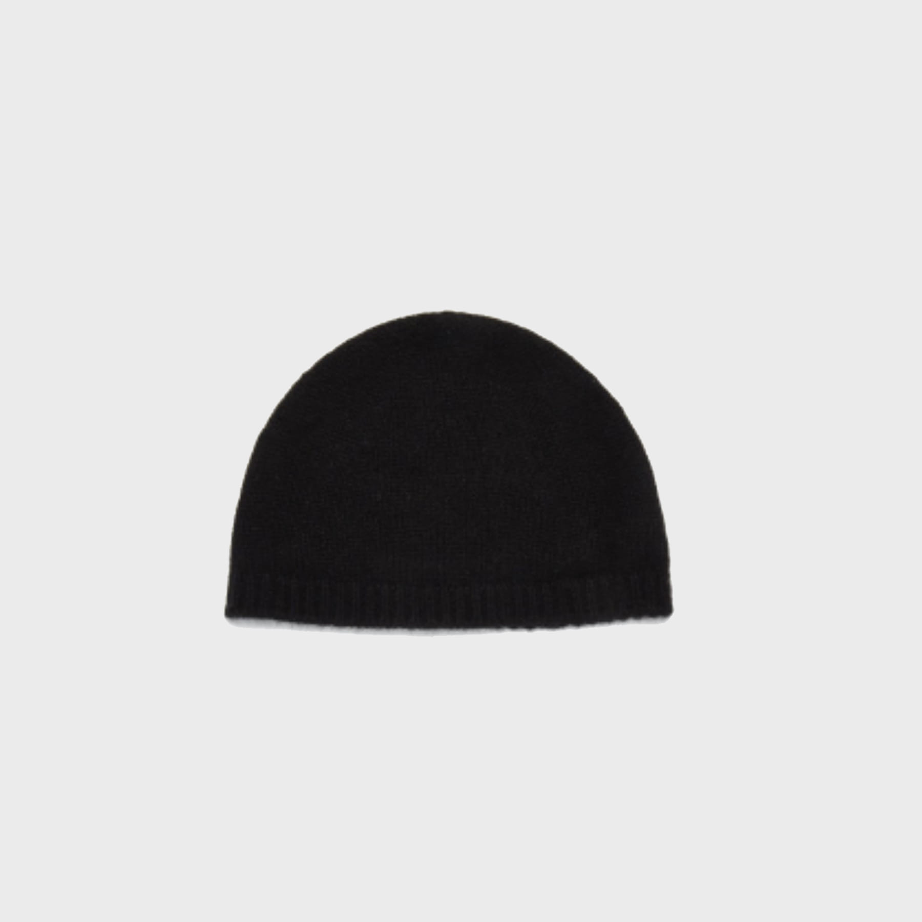 Wool watch cap (black)
