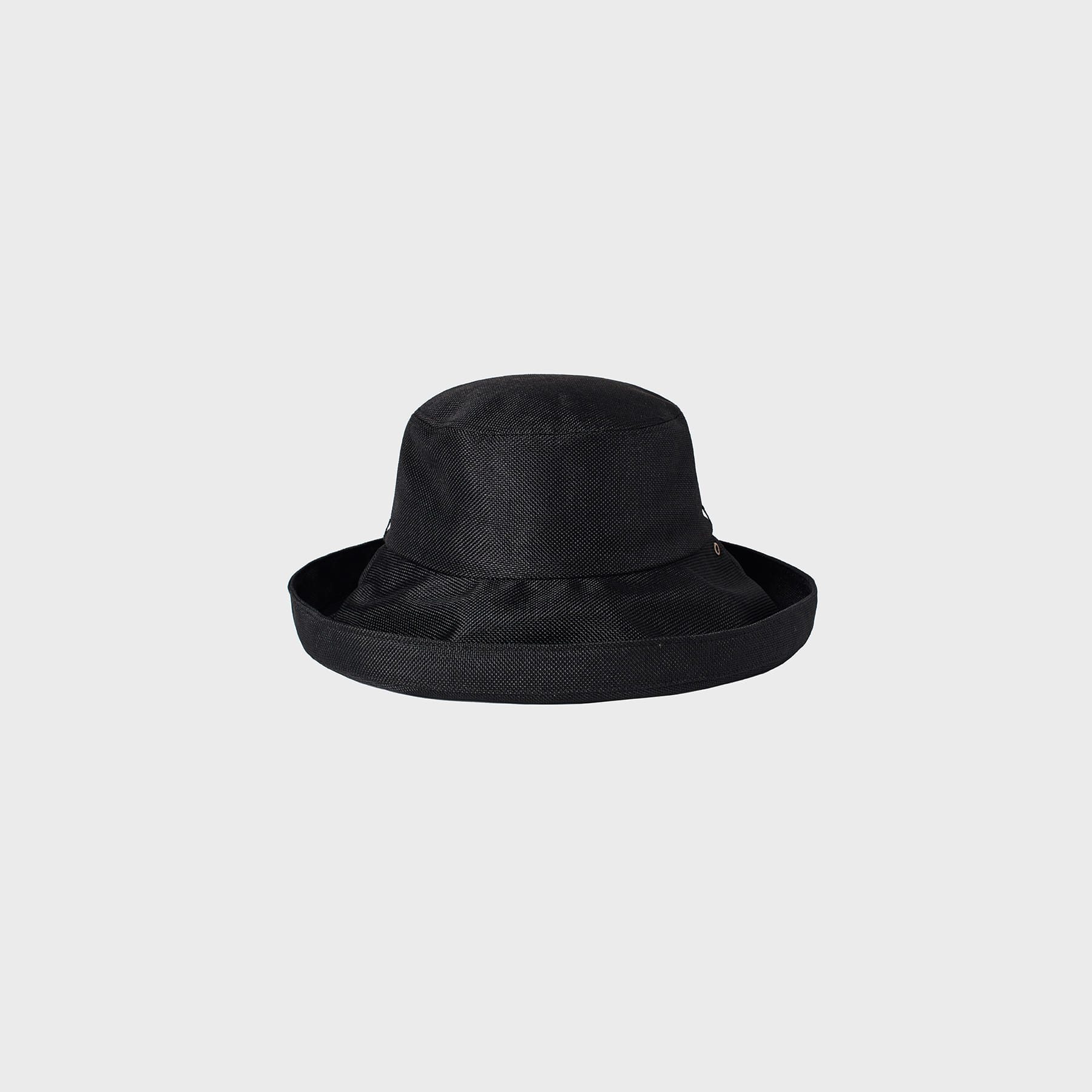 Parasol roll hat (black)